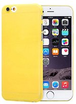 iPhone 6S Plus Case, Lookatool® for iPhone 6S Plus Matte Polypropylene Hard Case Cover Skin (Yellow)