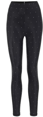 Adam Selman Sport Core embellished leggings