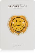 Anya Hindmarch Leo zodiac small sticker