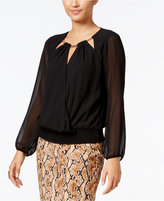 Thalia Sodi Hardware-Trim Cutout Top, Only at Macy's