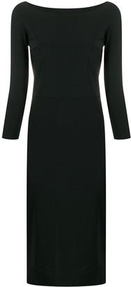 Le Petite Robe Di Chiara Boni Fitted Shift Dress