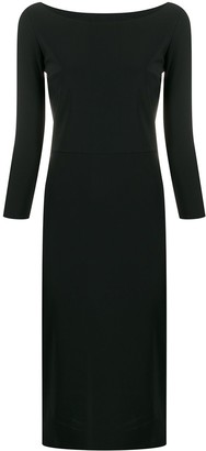 Le Petite Robe Di Chiara Boni Fitted Shift Dress