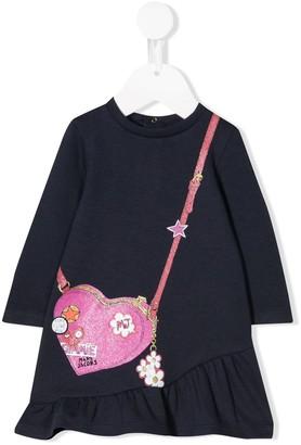 Little Marc Jacobs Handbag Print Dress