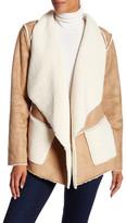 Cullen Faux Fur Open Jacket