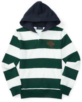 Ralph Lauren Boys 8-20 Striped Cotton Blend Hoodie