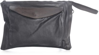 Numero 10 Horse Briefcase Bag W/patch In Fornt
