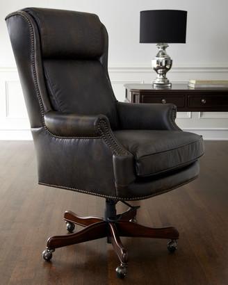 Hooker Furniture Mason Leather Desk Chair