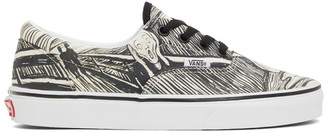 Vans Off-White and Black MoMA Edition Edvard Munch Sneakers