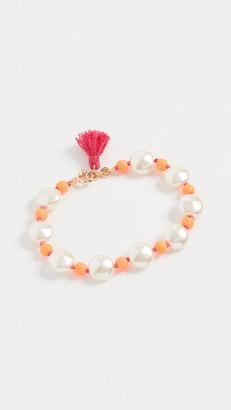 Roxanne Assoulin Pancake Imitation Pearl Bracelet