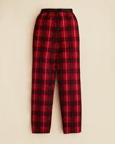 Calvin Klein Boys' Large Scale Plaid Pants - Sizes XS-L