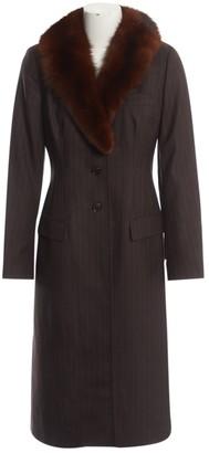 Dolce & Gabbana Grey Mink Coat for Women Vintage