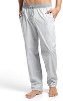 Hanro Alvaro Striped Lounge Pants, Gray/Blue