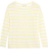 Alice + Olivia Efren Striped Cashmere Sweater