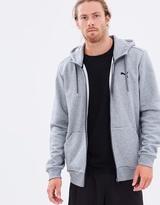 Puma Essentials Fleece Full Zip Hoodie