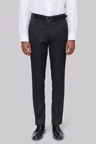 Moss Bros Slim Fit Machine Washable Charcoal Pants