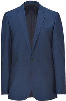 HUGO Medium Blue Stretch Virgin Wool Amaro/Heise Blazer
