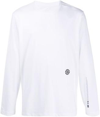Oamc logo print long-sleeved T-shirt