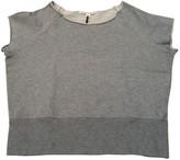 Twenty8Twelve By S.miller Grey Cotton Top for Women