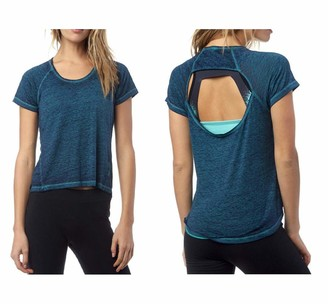 Fox Racing Womens Whirlwind Burnout Shirt with Key Hole Back