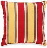 Bed Bath & Beyond 17-Inch Welt Cord Pillow in Haliwell Stripe
