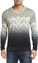 Robert Graham Lazio V-Neck Wool Sweater