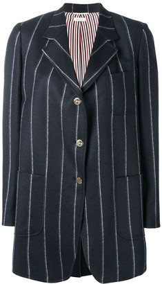 Thom Browne Shadow Stripe Narrow Sack Jacket