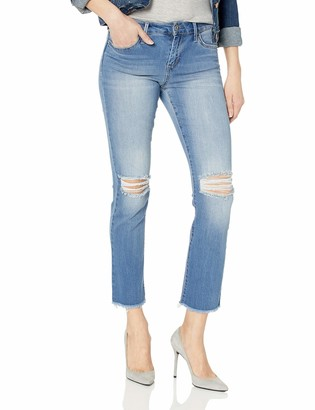 Jessica Simpson Women's Plus Size Arrow Straight Ankle Jean