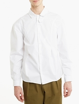 J.w. Anderson White Bold-shoulder Shirt