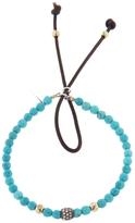 Catherine Michiels Turquoise Rondelle Stardust Bracelet