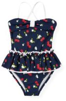 Janie and Jack Cherry Skirted One-Piece Swimsuit