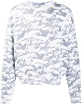 Off-White Off White all-over arrow print sweatshirt