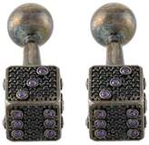 Begüm Khan embellished dice cufflinks