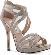 Nina Fayette Platform Evening Sandals Women's Shoes