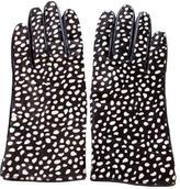 Kate Spade Ponyhair Printed Gloves