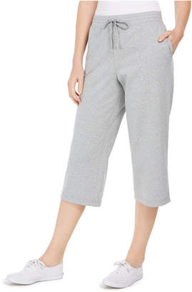 Karen Scott Knit Capri Pants