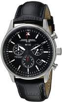 Jorg Gray Men's Swiss Movement Quartz Watch JG6500-44 with Natural Leather Strap