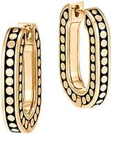 John Hardy 18K Yellow Gold Dot Small Link Earrings