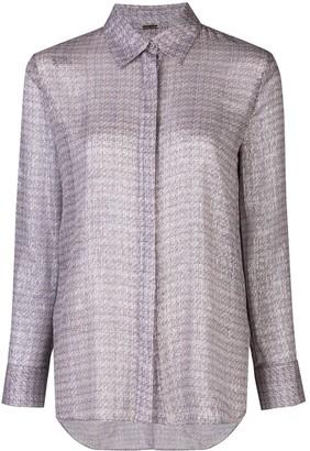 Adam Lippes Printed Chiffon Shirt
