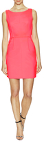 Milly Tech Stretch Seamed Shift Dress