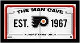 "Steiner Sports Philadelphia Flyers Framed 10"" x 20"" Man Cave Sign"
