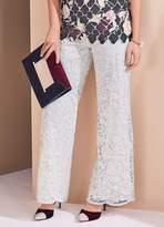 Kaleidoscope Wide Leg Lace Trousers