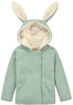 CuteOn Unisex Girl Toddler Rabbit Hoodie Coat Warm Jacket 1-2y