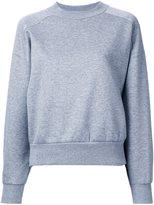 EN ROUTE cardboard side-zip sweatshirt