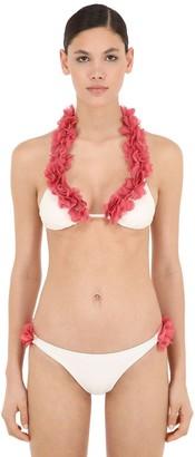 La Reveche Jamilia Lycra Triangle Bikini