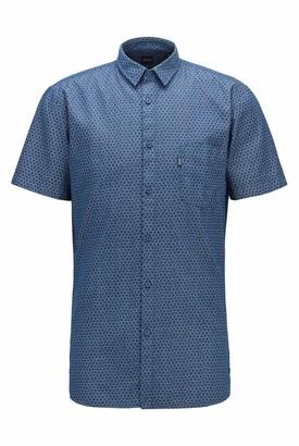 HUGO BOSS Men's Magneton_1-Short Shirt