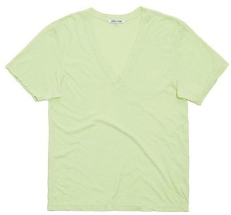 Cotton Citizen The Sydney V Neck In Citron - XS