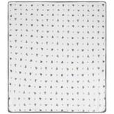 Ralph Lauren Ralph LaurenWhite & Navy Bear Print Baby Blanket