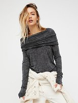 We The Free Cosmo Cowl Top by at Free People
