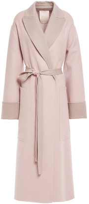Roksanda Marley Belted Wool And Cashmere-blend Felt Coat
