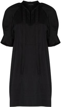 Lee Mathews Maleo tie bib dress